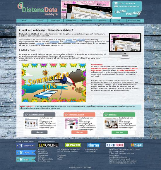 DistansData ny design