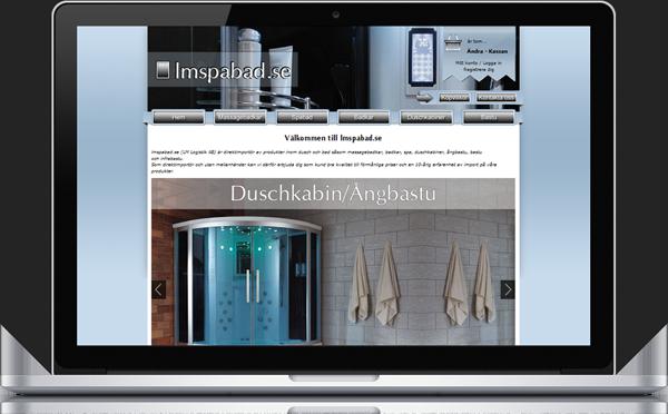 En ny designad e-butik skapad 1