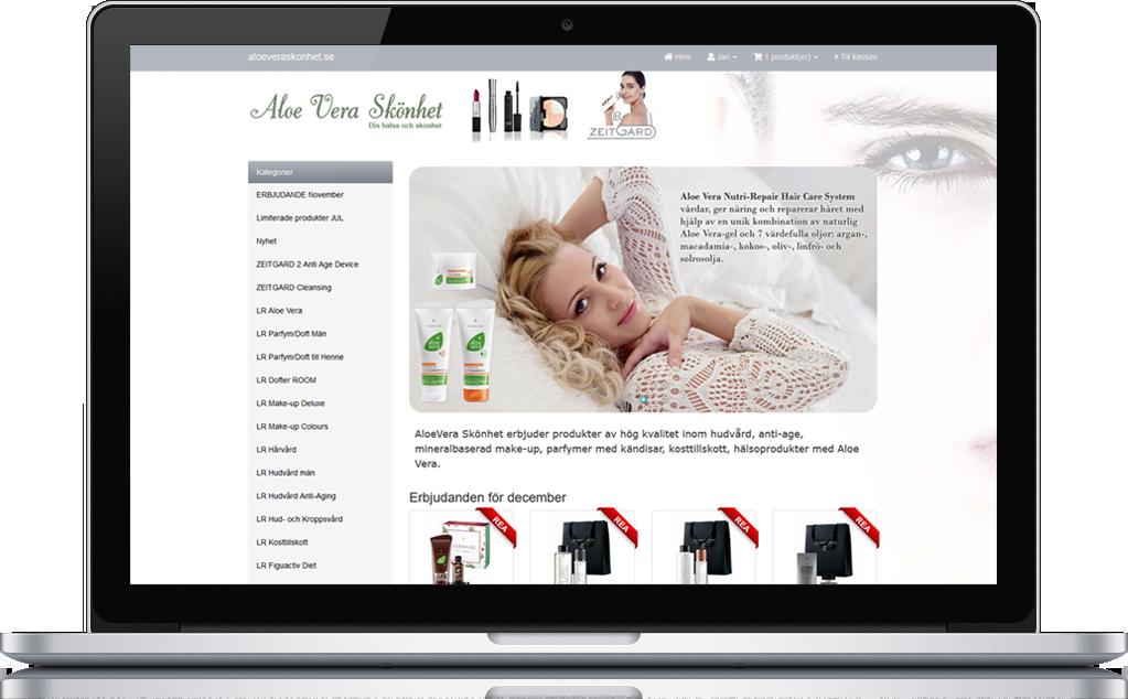 Ny designad webshop 1