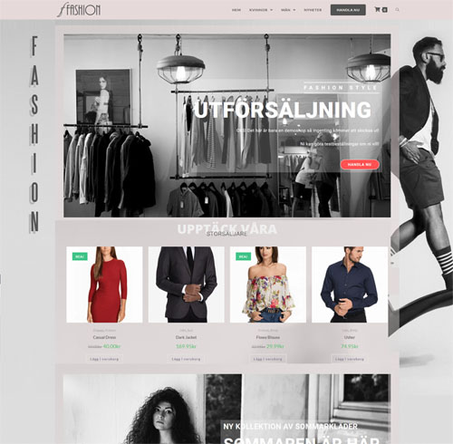 WooCommerce WebShop demo 2